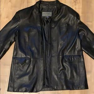 Wilda Lambskin leather jacket